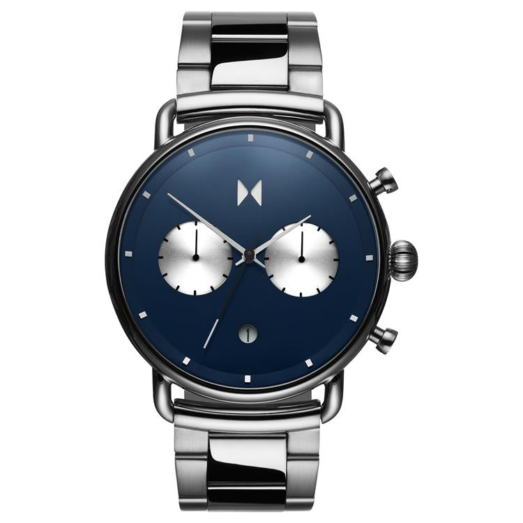 MVMT Blacktop Gents Bracelet Watch D-BT01-BLUS