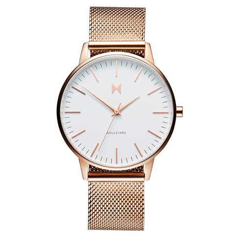 MVMT Boulevard Ladies Bracelet Watch D-MB01-RGWM