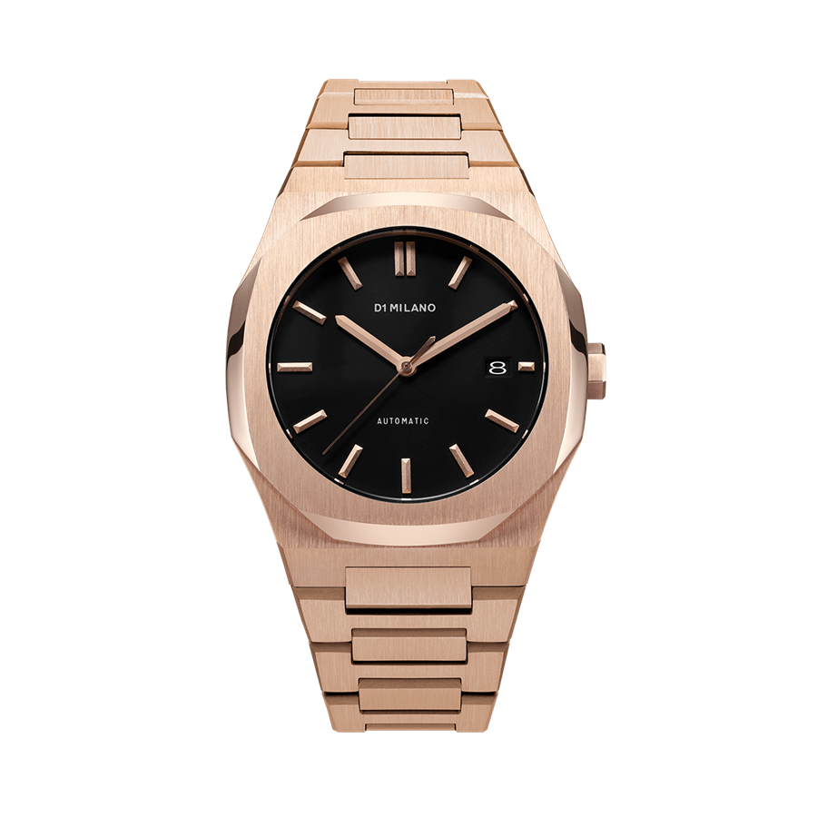 D1- Milano P701 Gold and Black Dial Watch ATBJ03
