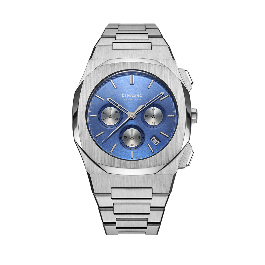 D1- Milano Chronograph Blue Dial Watch CHBJ02