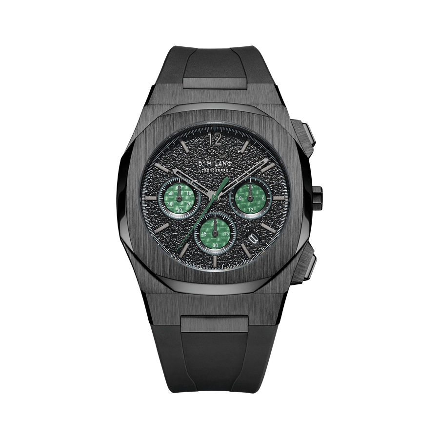 D1- Milano Chronograph Black Watch CHRJ02