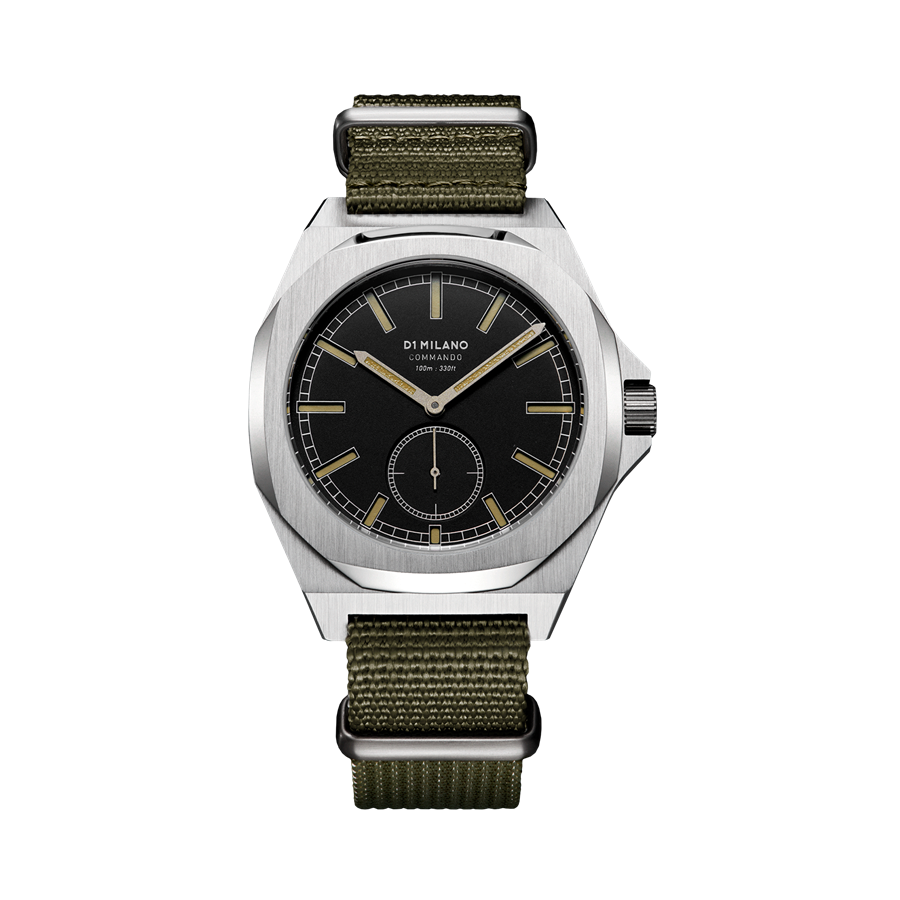 D1- Milano Commando Army Nato Strap Watch MTNJ03