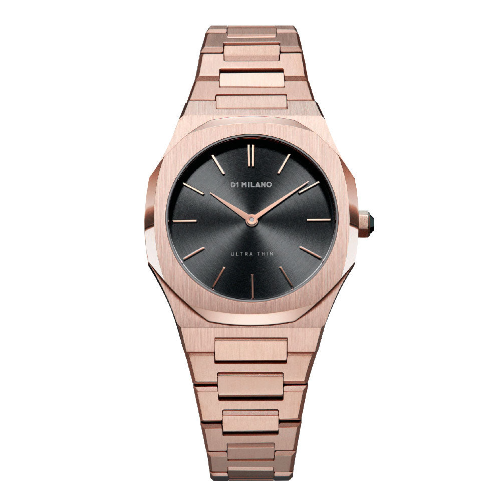 D1 Milano Ultra Thin Rose Night Watch D1-UTBL06