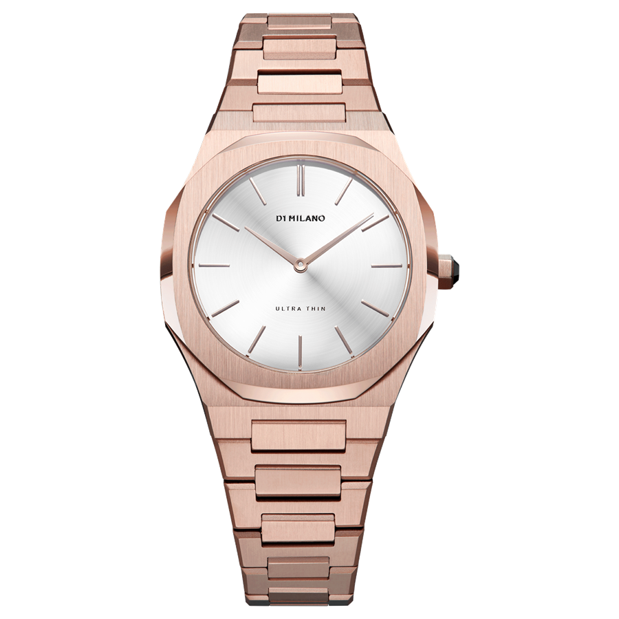 D1- Milano Ultra Thin Rose Gold Watch UTBL09