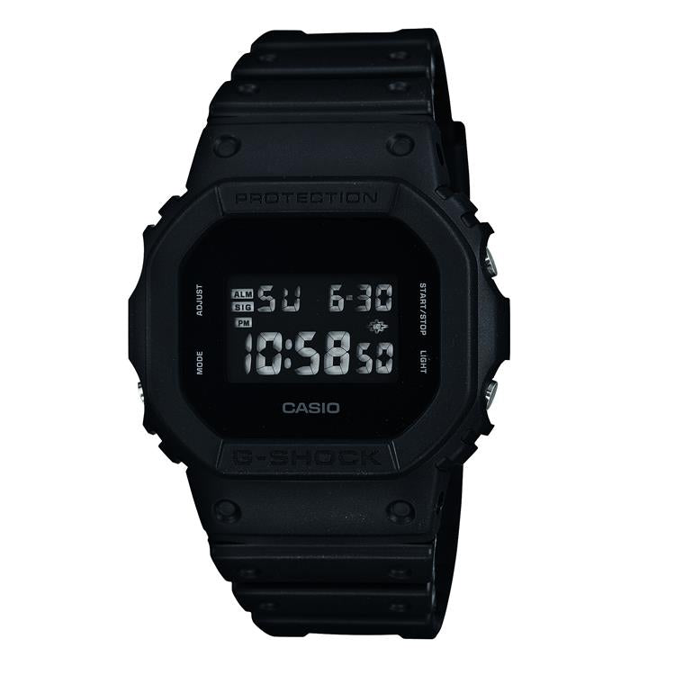 Casio G Shock Gents Strap Watch DW-5600BB-1ER