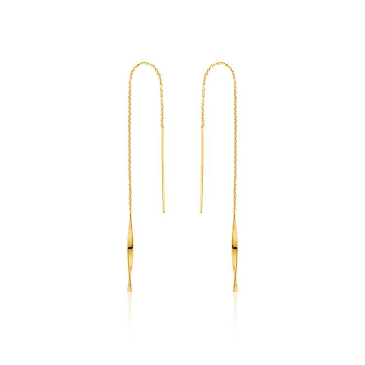 Ania Haie Helix Threader Earrings E012-03G
