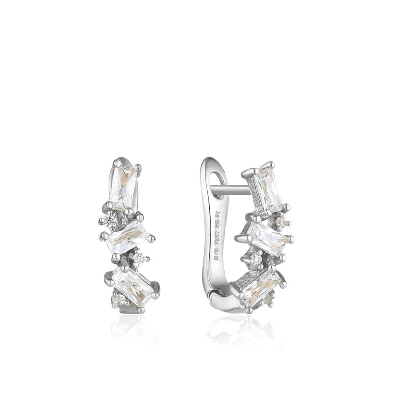 Ania Haie Glow Cluster Huggie Earrings E018-03H