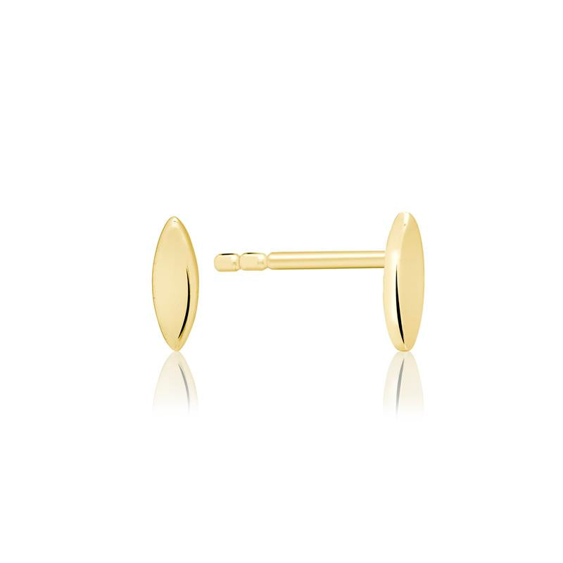 Achara Marquise Shaped Small Stud Earrings