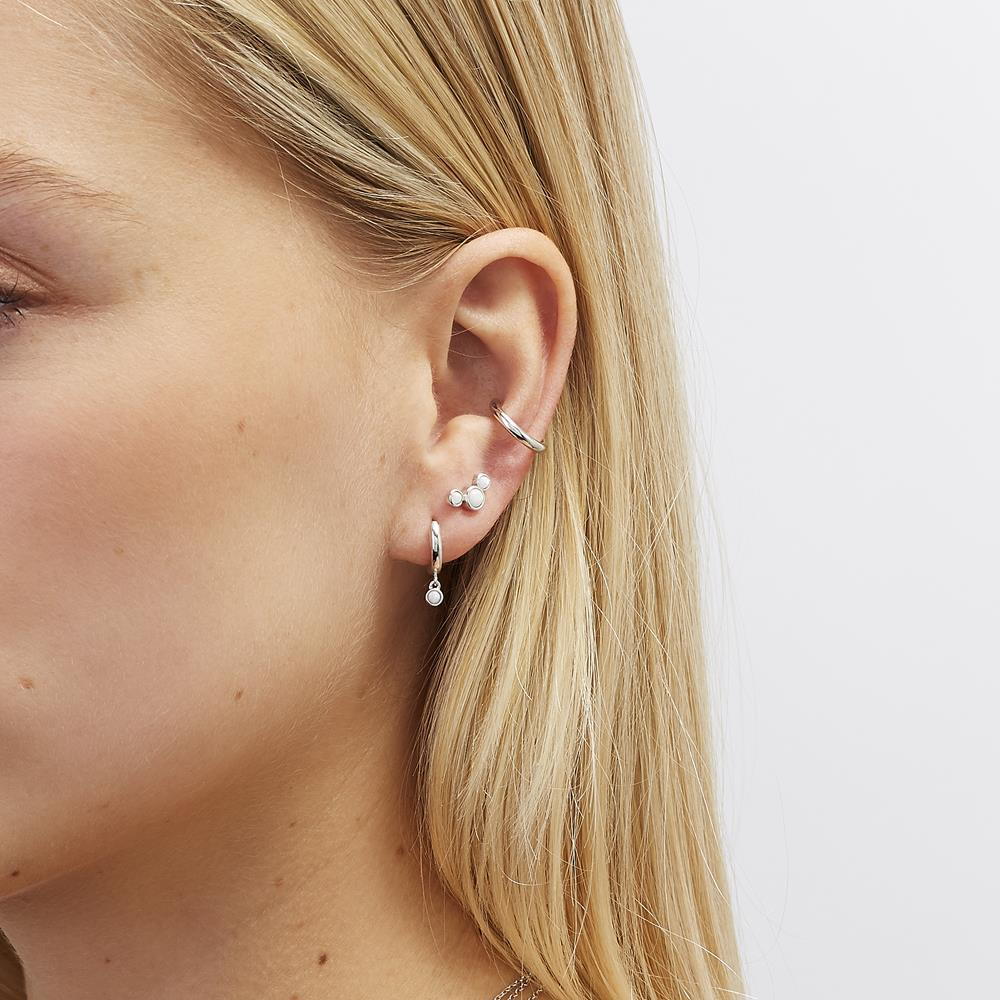Achara Simple Plain Ear Cuff Earring
