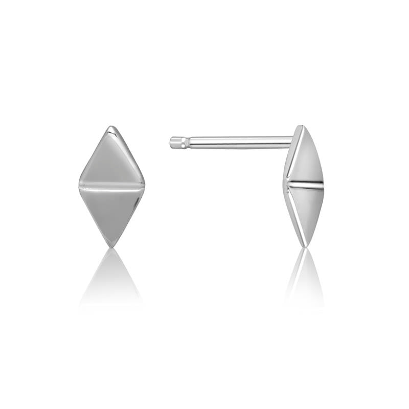 Achara Geometric Double Triangle Stud Earrings
