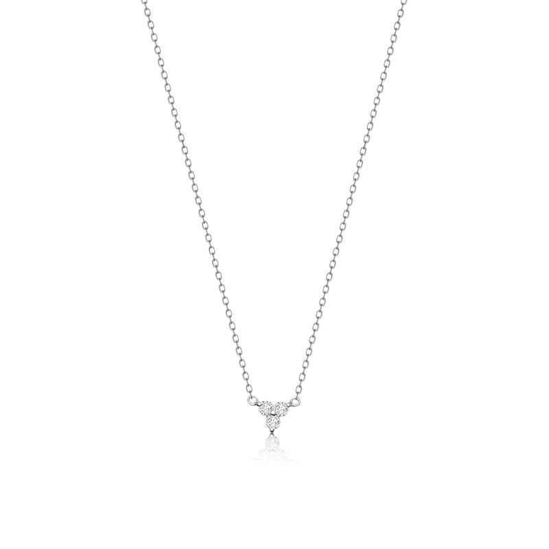 Achara Trinity Cubic Zirconia Necklace