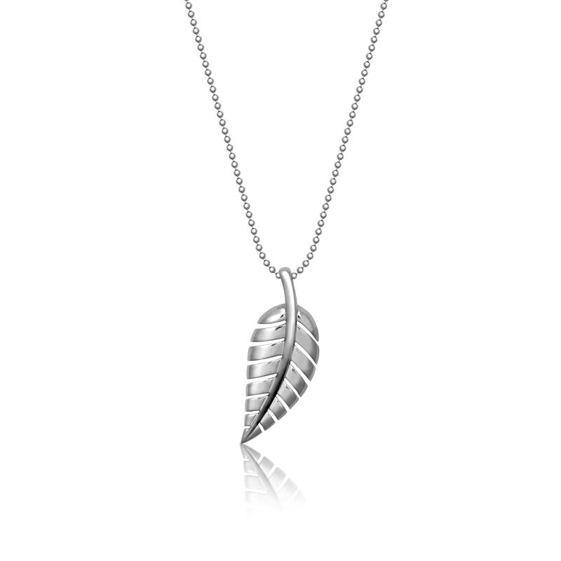 Achara Leaf Pendant Necklace