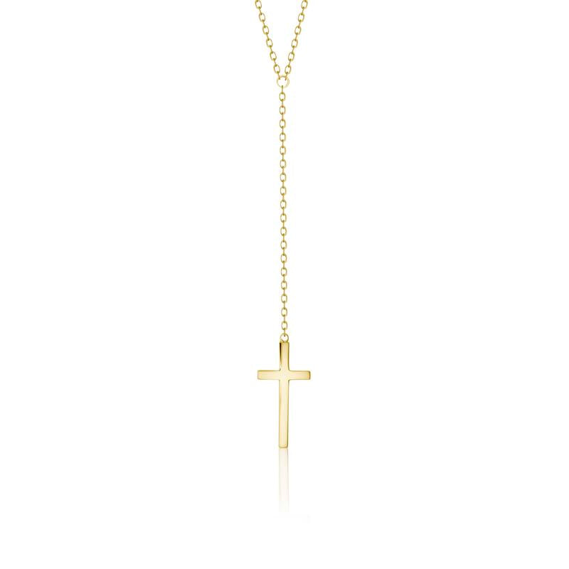 Achara Cross Lariat Y Necklace