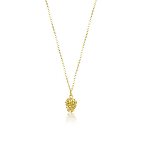 Achara Pine Cone Necklace