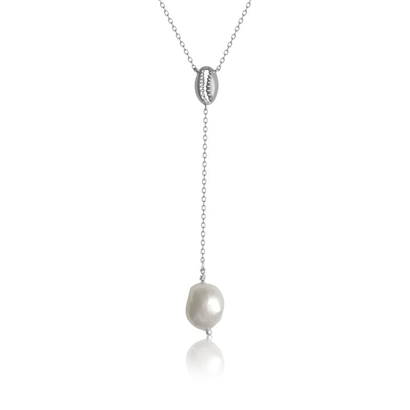 Achara Pearl Lariat Y Necklace