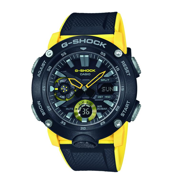 Casio G Stock Gents Strap Watch GA-2000-1A9ER