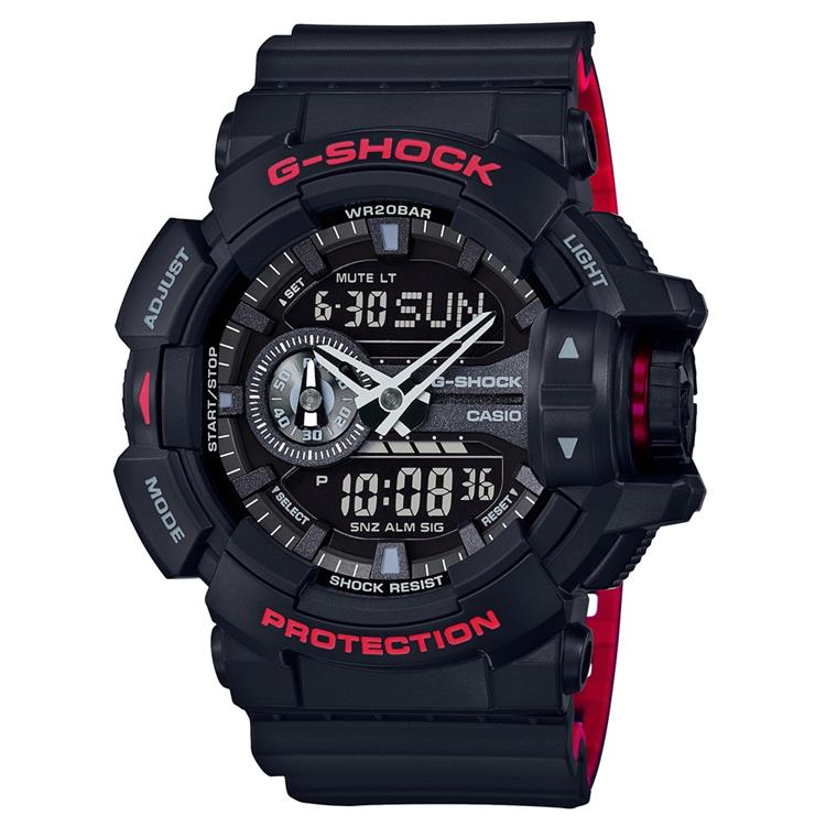 Casio G Shock Gents Strap Watch GA-400HR-1AER