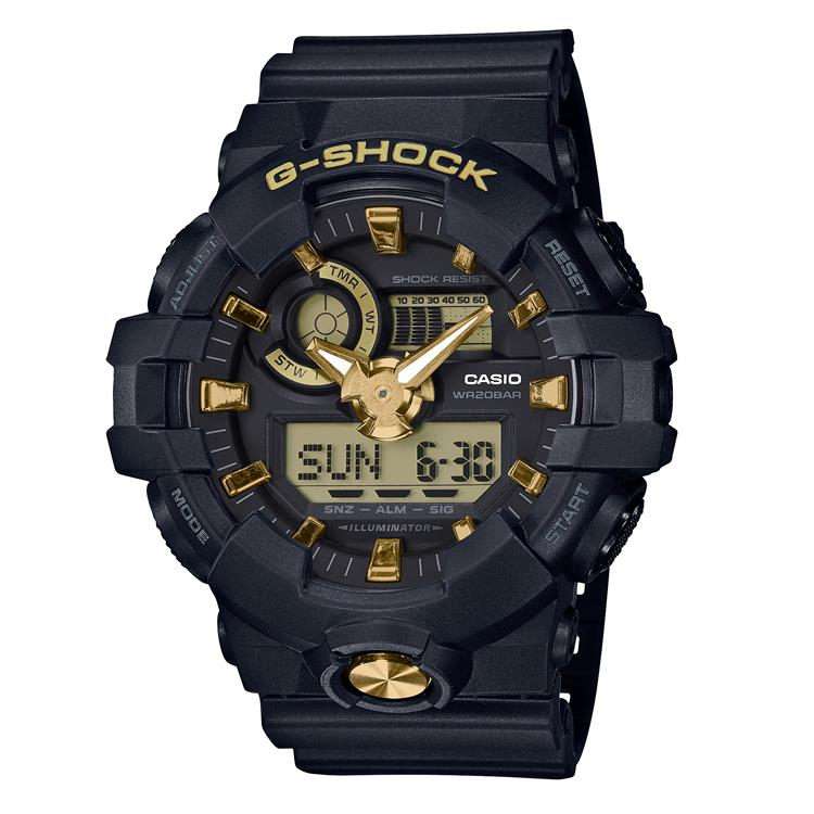 Casio G Stock Gents Strap Watch GA-710B-1A9ER