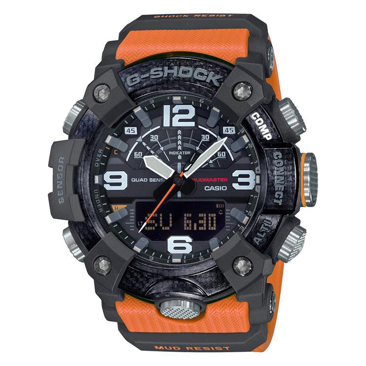 Casio Mudmaster Carbon Core Orange Guard GG-B100-1A9ER