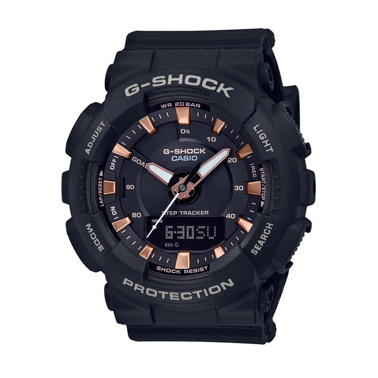 Casio G Stock Gents Strap Watch GMA-S130PA-1AER