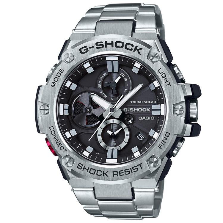 Casio G Shock Gents Bracelet Watch GST-B100D-1AER