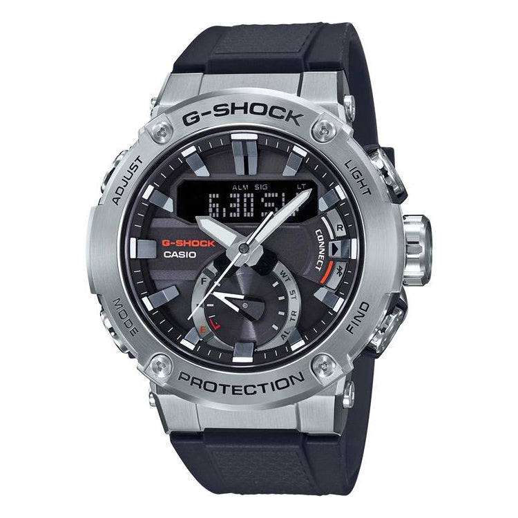 Casio G-Steel Carbon Core Guard Watch GST-B200-1AER