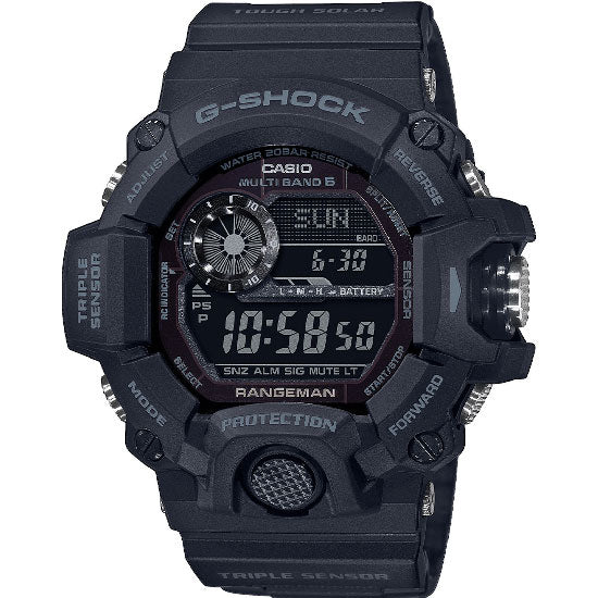 Casio G-Shock Black-Out Rangeman Watch GW-9400-1BER