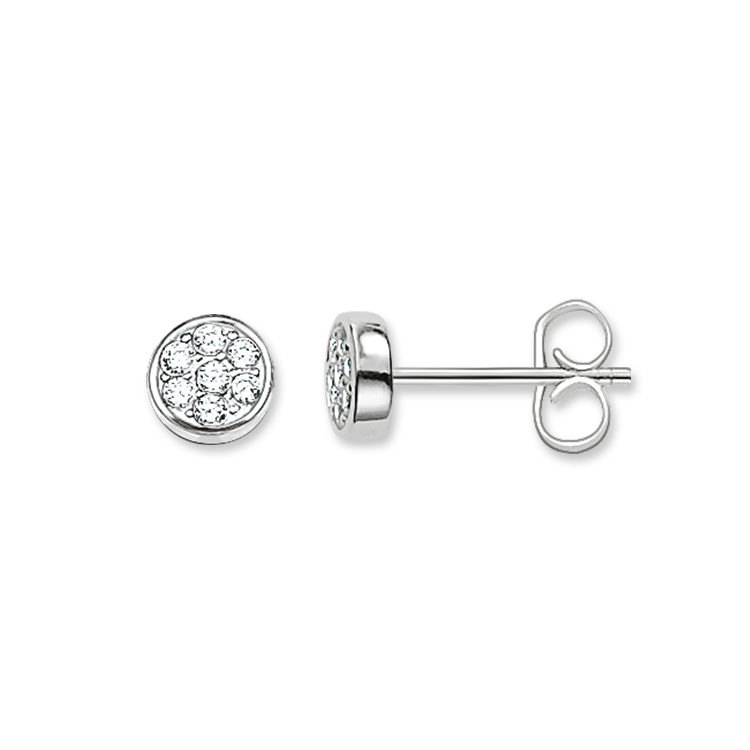 Thomas Sabo Circles Silver Earrings