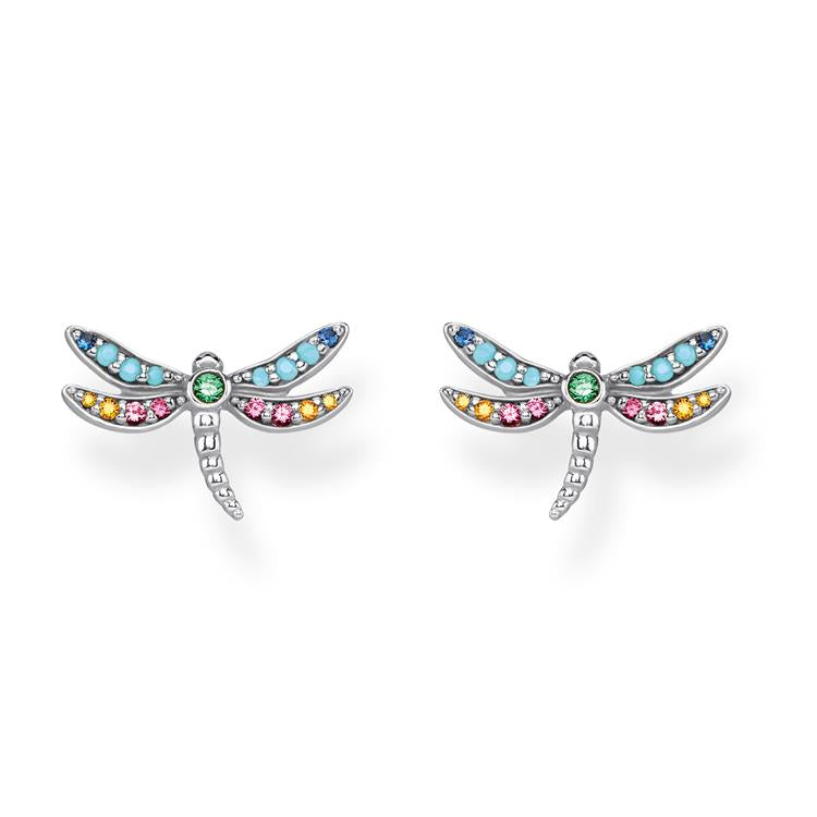 Thomas Sabo Dragonfly Studs Earrings H2051-314-7