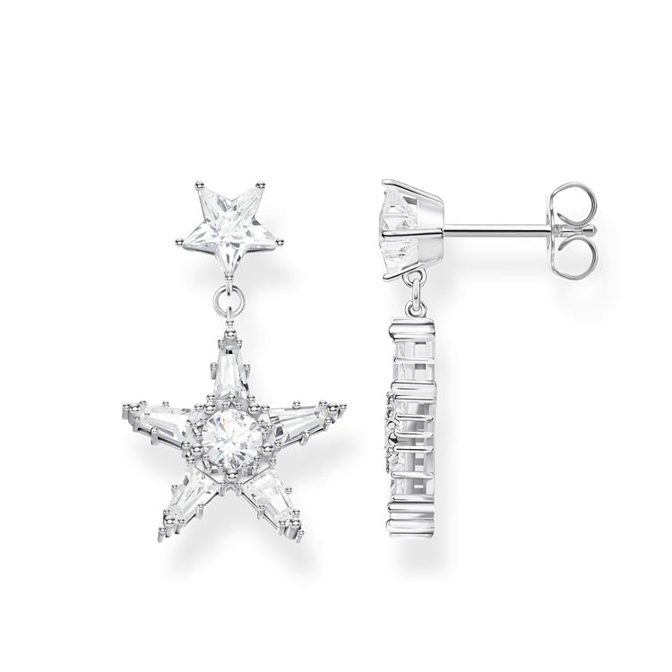 Thomas Sabo Star Stud Drop Earrings H2080-051-14