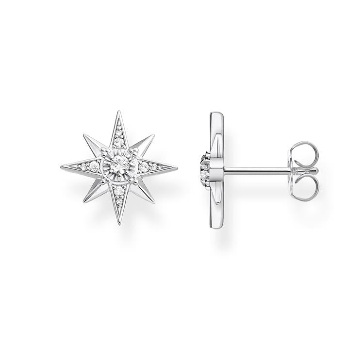 Thomas Sabo Sparkling Star Stud Earrings