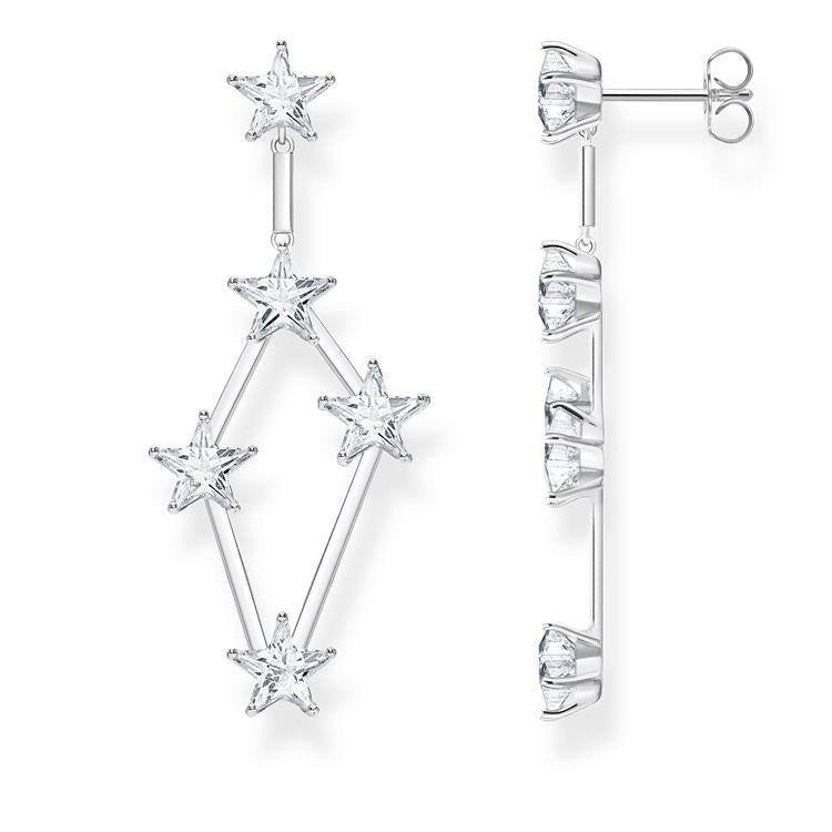Thomas Sabo Multi Stars Drop Earrings H2083-051-14