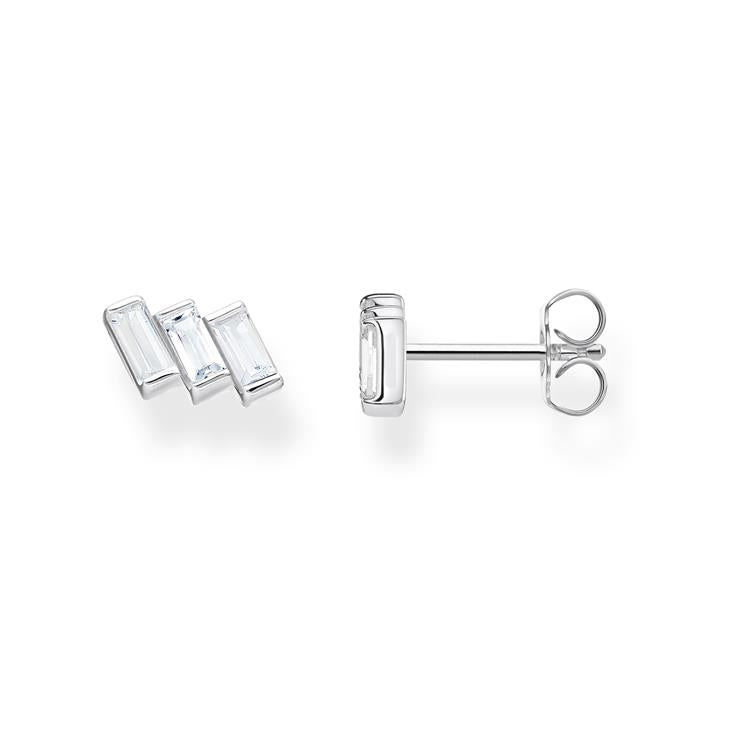 Thomas Sabo Ear Studs Angular Stone H2089-051-14