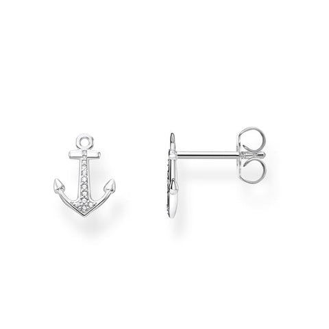 Thomas Sabo Silver Ear Studs Anchor H2095-051-14