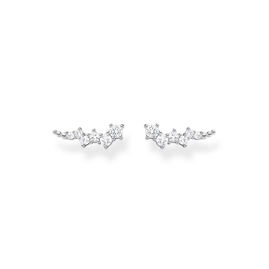 Thomas Sabo Silver Star Cluster Ear Climbers