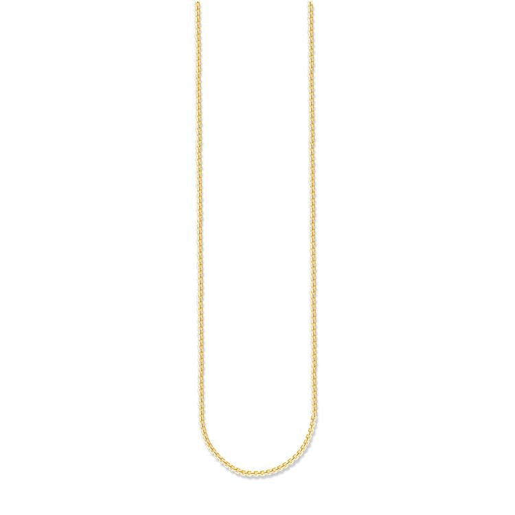 Thomas Sabo Venezia Box Chain Gold KE1106-413-12