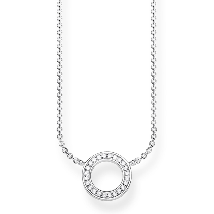Thomas Sabo Silver Circle Necklace