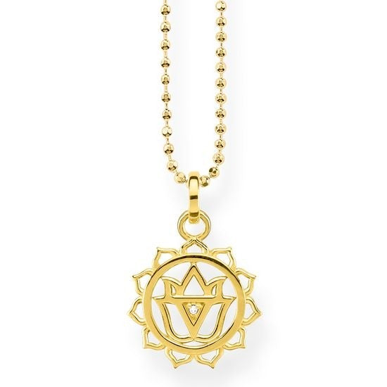 Thomas Sabo Solar Plexus Charka Necklace
