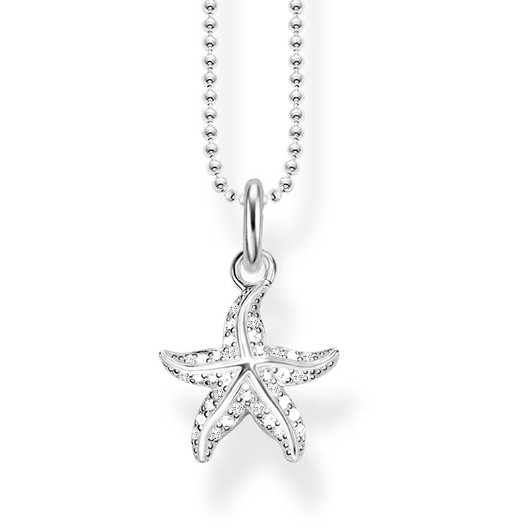 Thomas Sabo Starfish Necklace KE1754-051-14-L45V