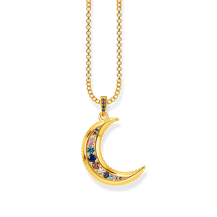 Thomas Sabo Royalty Moon Necklace