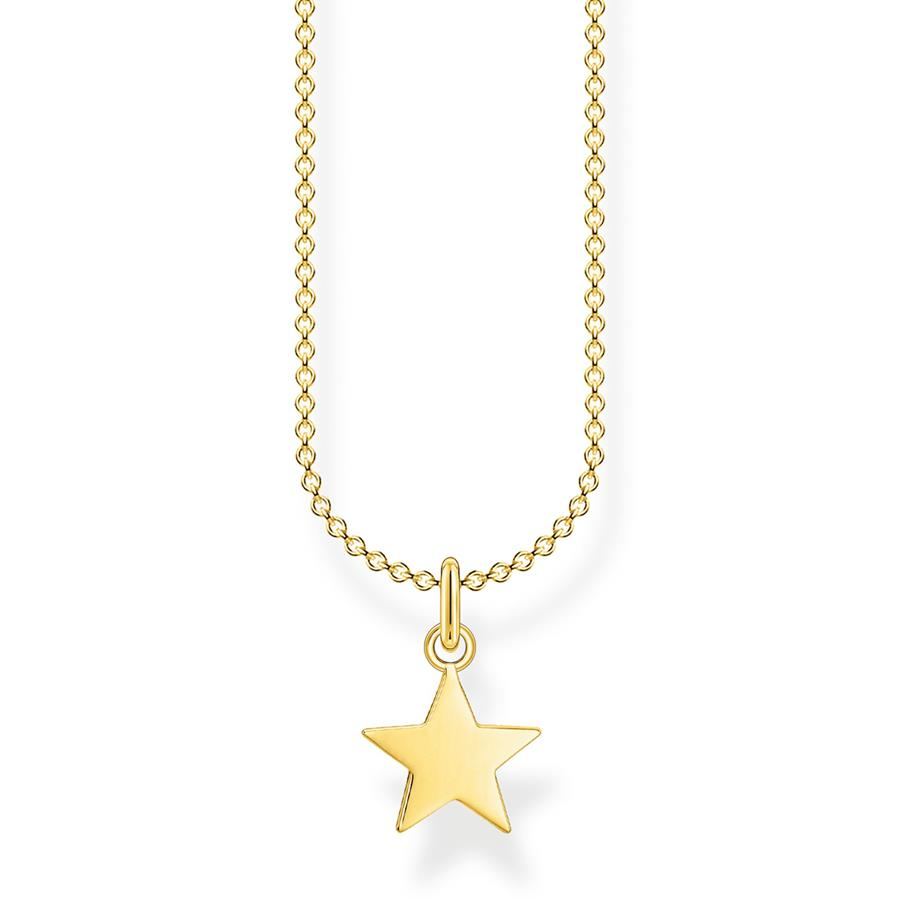 Thomas Sabo Necklace Star Gold KE2053-413-39-L45V