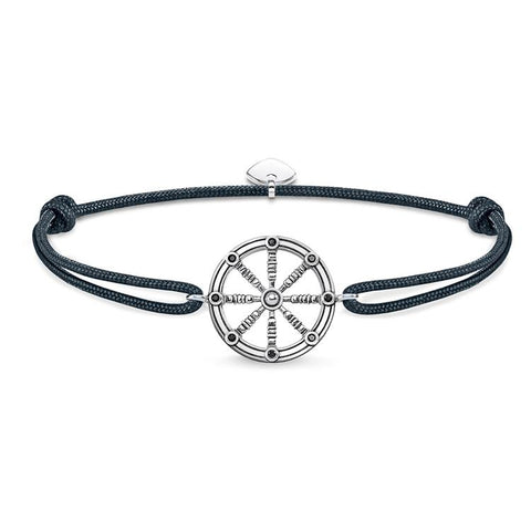Thomas Sabo Men Karma Wheel Bracelet LS064-889-5