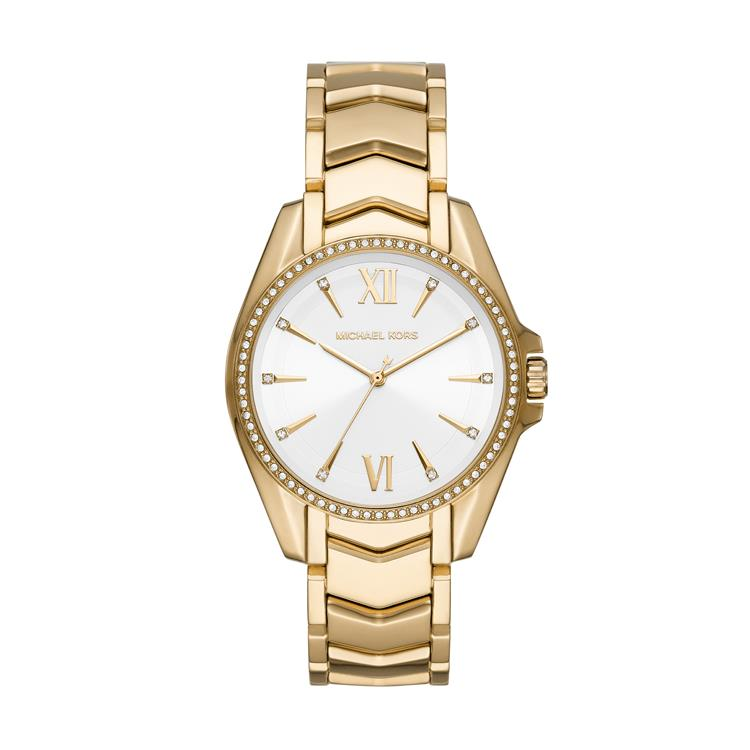 Michael Kors Ladies Whitney Gold Watch MK6693