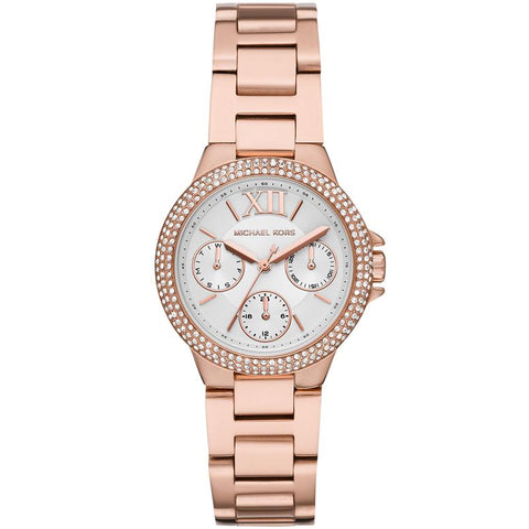 Michael Kors Mini Camille Rose Gold Watch MK6845