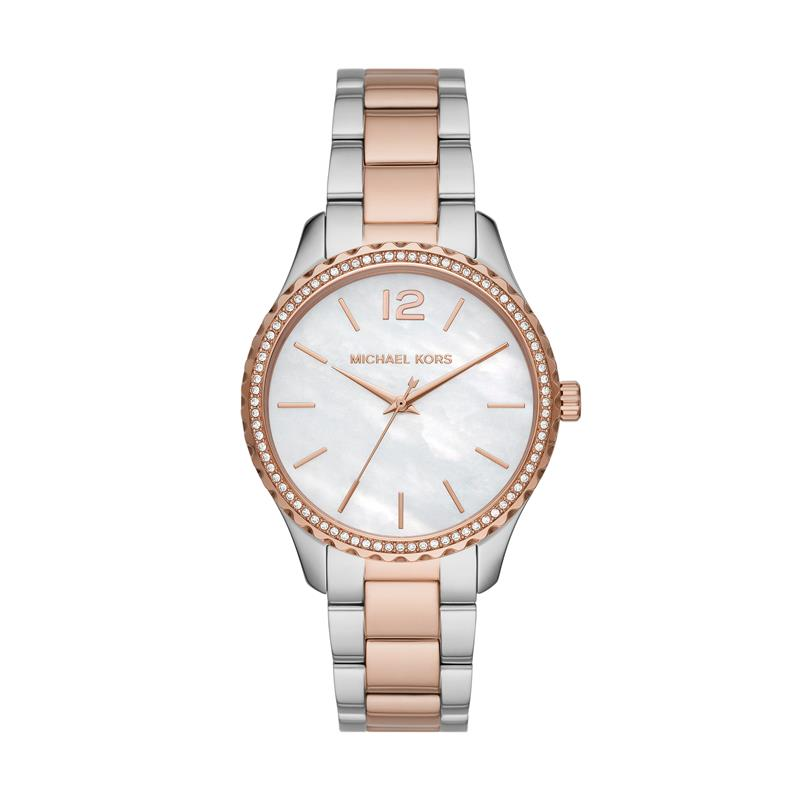Michael Kors Layton Bicolor Watch MK6849