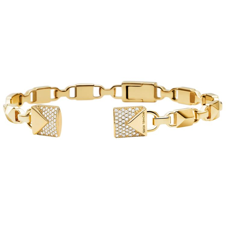 Michael Kors Gold Padlock Bangle MKC1009AN710