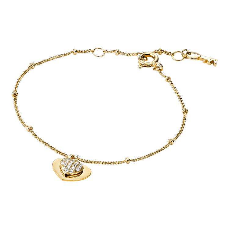 Michael Kors Gold Heart Bracelet MKC1118AN710