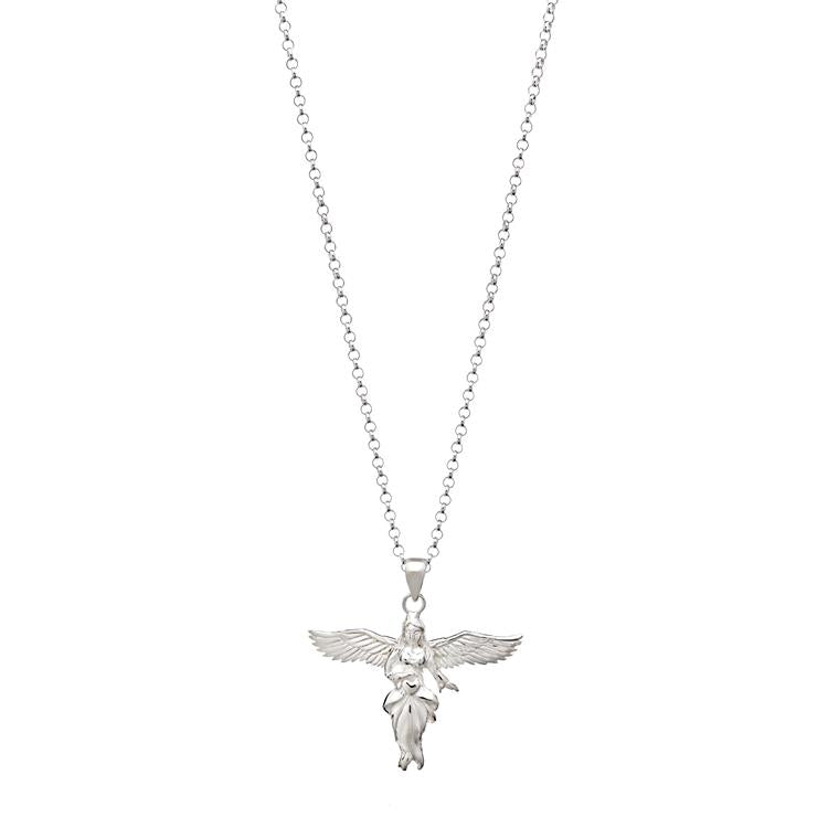 Annie Haak Gili Guardian Angel Silver Necklace