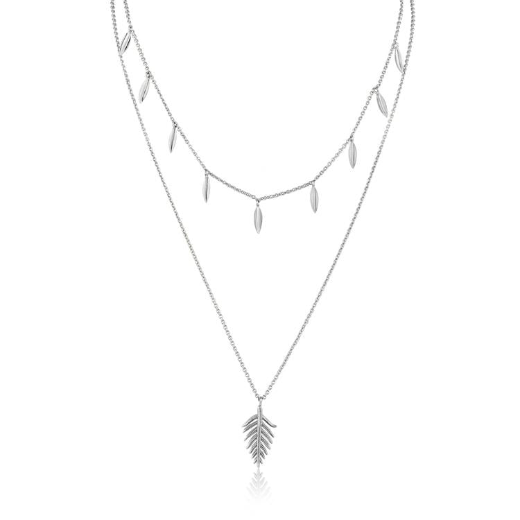 Ania Haie Tropic Double Necklace N011-01H