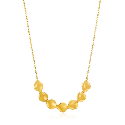 Ania Haie Crush Multiple Discs Necklace N017-04G